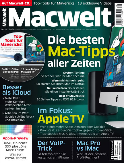 Macwelt Special May 02, 2014 00:00