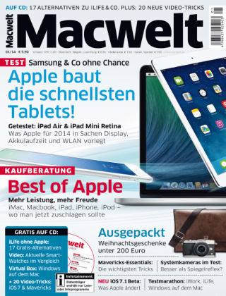 Macwelt Special 01/14