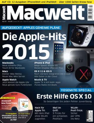 Macwelt Special 02/15
