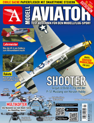Modell AVIATOR 01/2015
