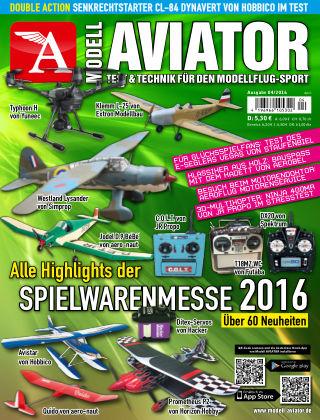 Modell AVIATOR 04/2016