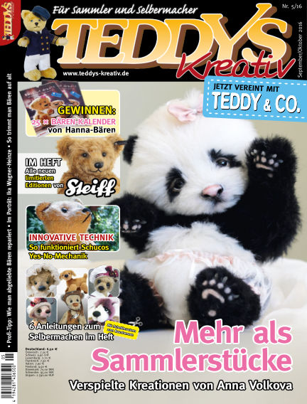 TEDDYS kreativ August 05, 2016 00:00
