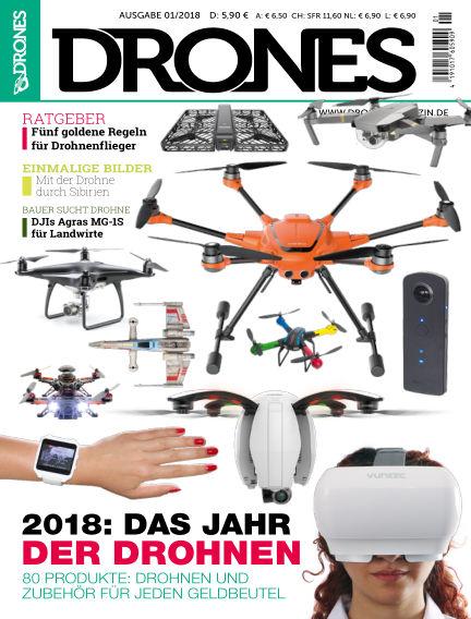 Drones December 01, 2017 00:00