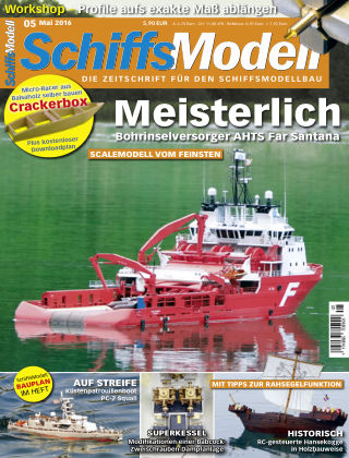 SchiffsModell 05/2016