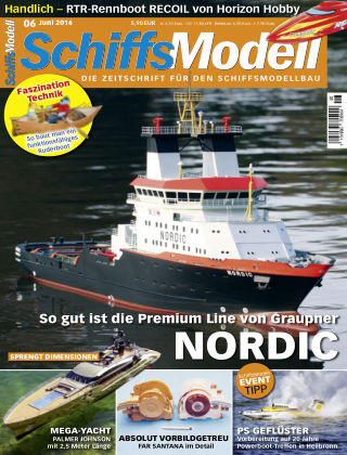 SchiffsModell 06/2016