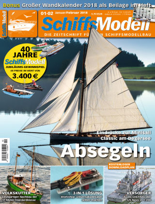 SchiffsModell 01-02/2018