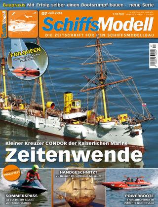 SchiffsModell 07/2018