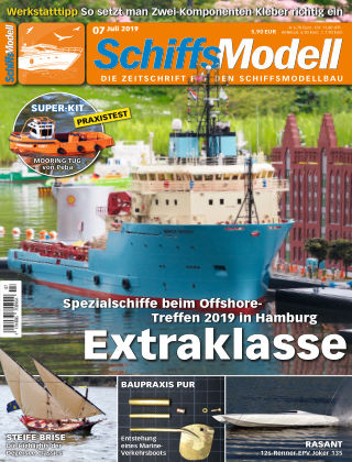 SchiffsModell 07/2019
