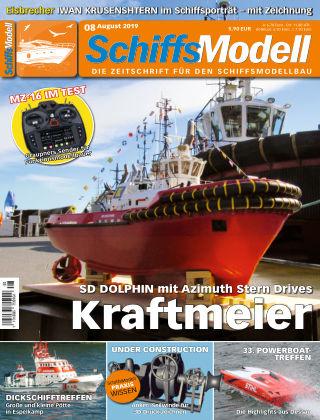 SchiffsModell 08/2019