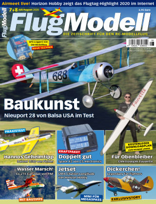 FlugModell 07+08/2020