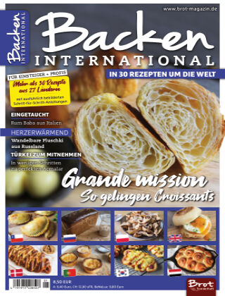 BROT Spezial Backen International