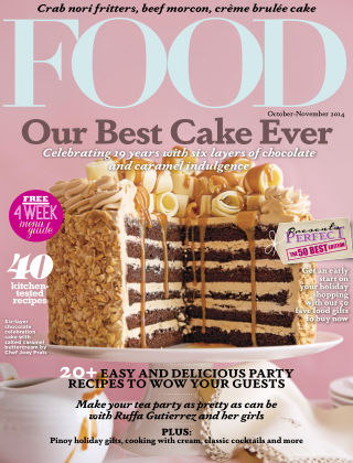 FOOD Magazine Philippines October 2014