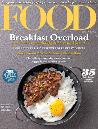 FOOD Magazine Philippines June 2014