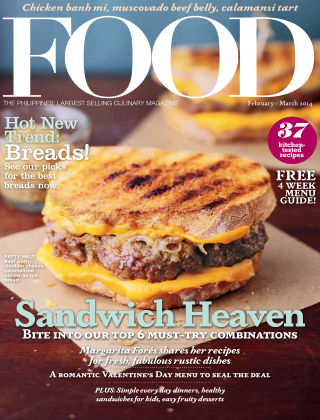 FOOD Magazine Philippines February 2014