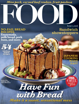 FOOD Magazine Philippines FOOD ISSUE 1 2016