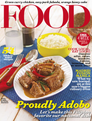 FOOD Magazine Philippines FOOD ISSUE 2 2016