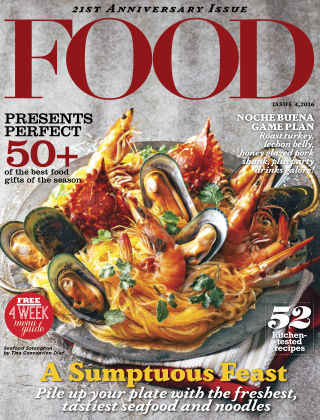 FOOD Magazine Philippines FOOD ISSUE 4 2016