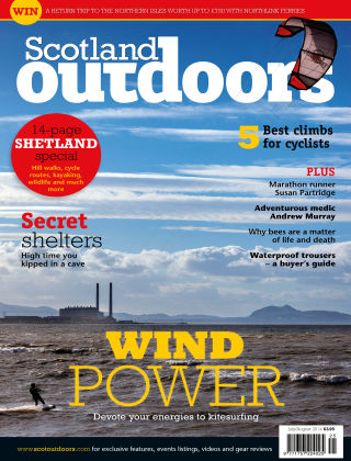 Scotland Outdoors July/August 2014