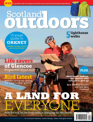 Scotland Outdoors Mar - Apr 2015