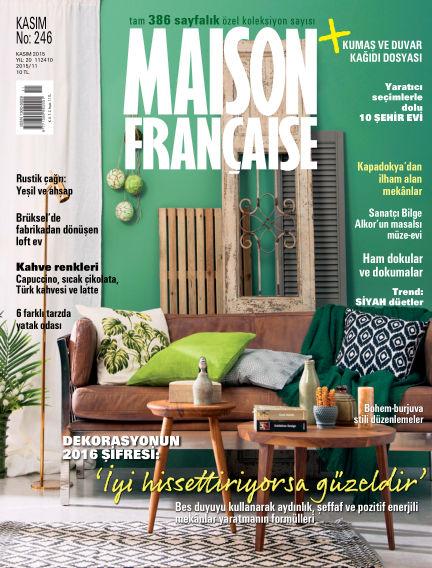 Maison November 02, 2015 00:00