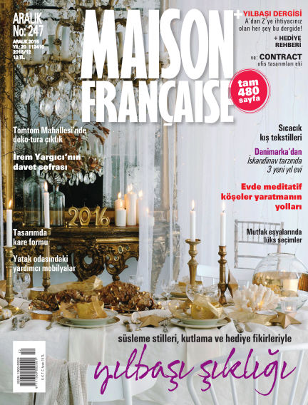 Maison December 03, 2015 00:00