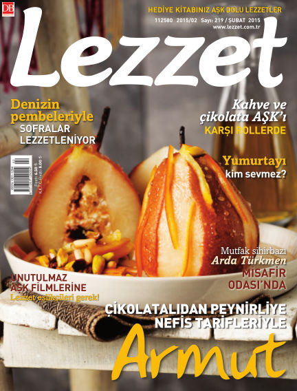 Lezzet January 29, 2015 00:00