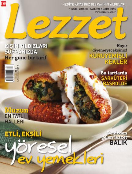Lezzet March 02, 2015 00:00
