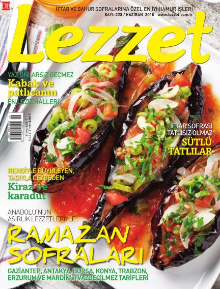Lezzet June 01, 2015 00:00