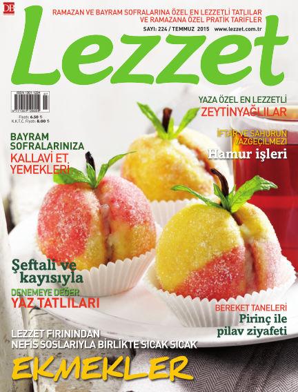 Lezzet July 01, 2015 00:00