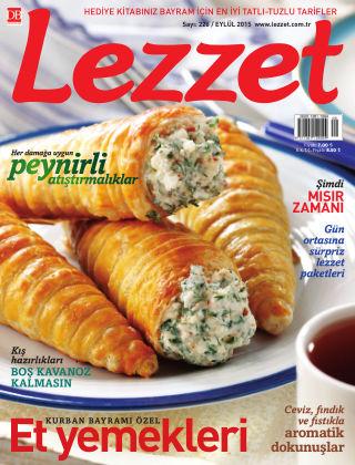 Lezzet September 2015
