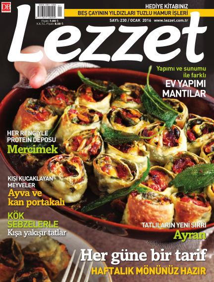 Lezzet December 30, 2015 00:00
