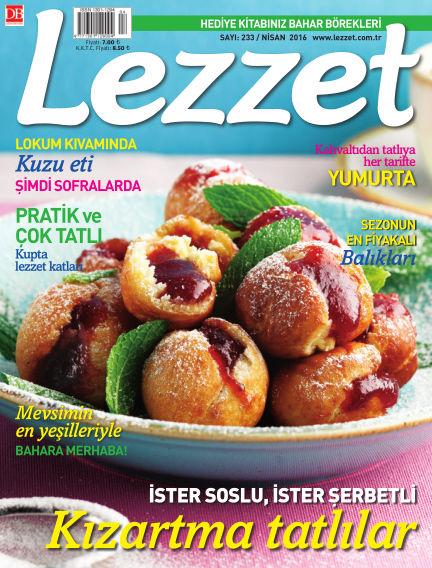 Lezzet March 31, 2016 00:00