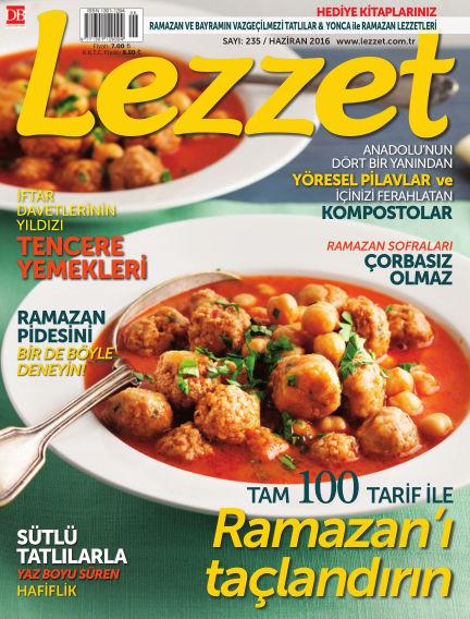 Lezzet June 01, 2016 00:00