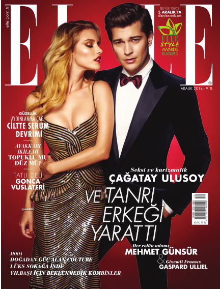 ELLE- Turkey December 09, 2014 00:00