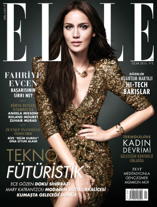 ELLE- Turkey January 2015