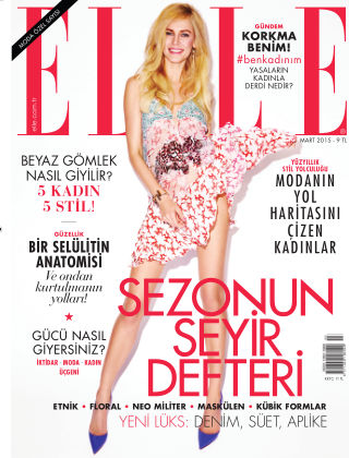 ELLE- Turkey March 2015
