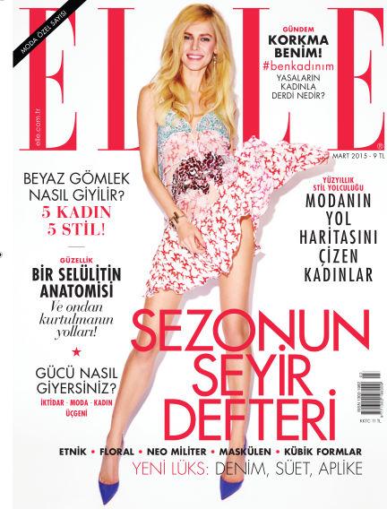 ELLE- Turkey March 04, 2015 00:00