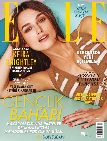 ELLE- Turkey April 01, 2015 00:00