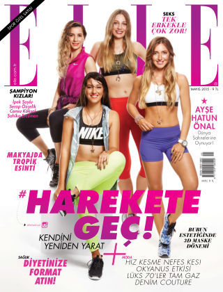 ELLE- Turkey May 2015