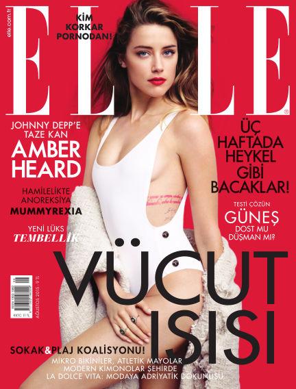 ELLE- Turkey July 31, 2015 00:00