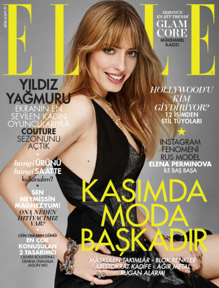 ELLE- Turkey November 02, 2015 00:00
