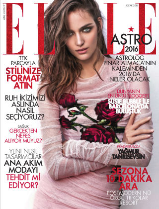ELLE- Turkey January 2016