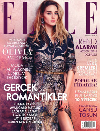 ELLE- Turkey 2016-04-01