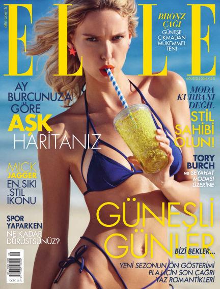 ELLE- Turkey July 31, 2016 00:00