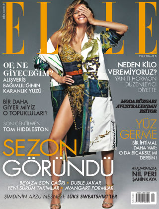 ELLE- Turkey September 2016