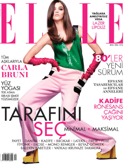 ELLE- Turkey September 29, 2016 00:00