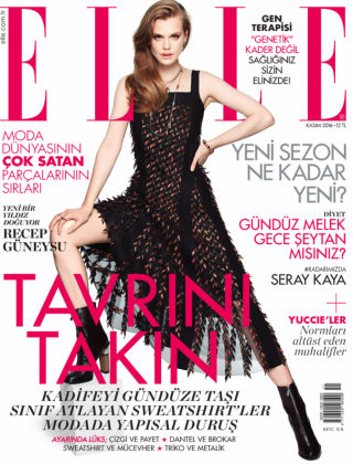 ELLE- Turkey November 2016