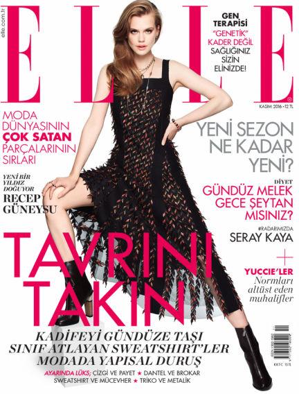 ELLE- Turkey October 31, 2016 00:00