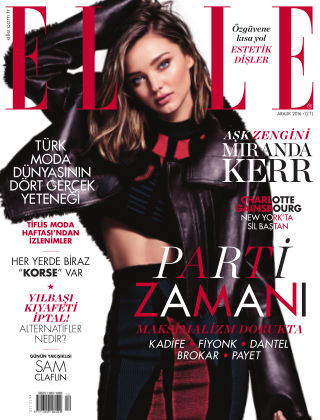 ELLE- Turkey December 2016