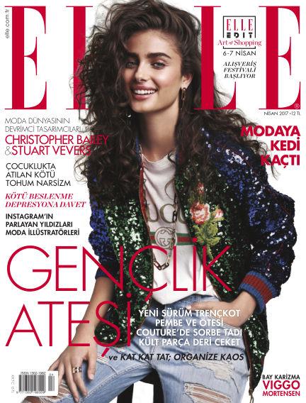 ELLE- Turkey March 30, 2017 00:00